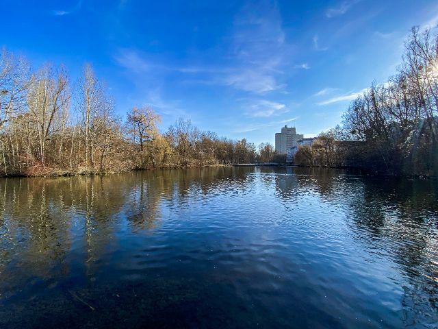 Schwabinger See im Frühling, Foto: Anette Göttlicher