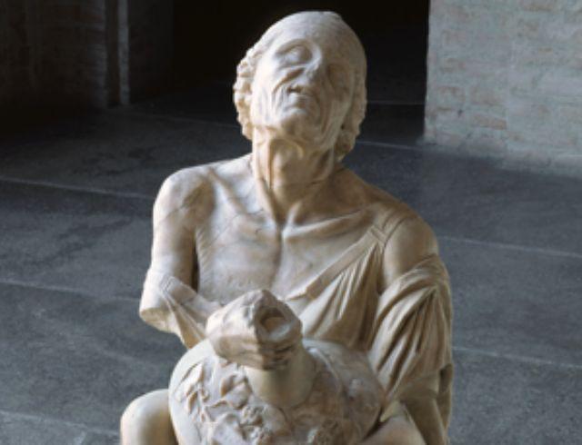 Die trunkene Alte in der Glypothek, Foto: Staatliche Antikensammlungen und Glyptothek München/Renate Kühling