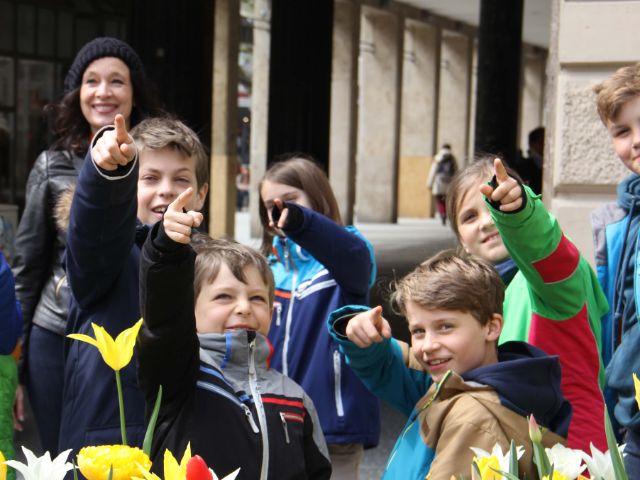 Kinder melden sich, Foto: Stadtdetektive