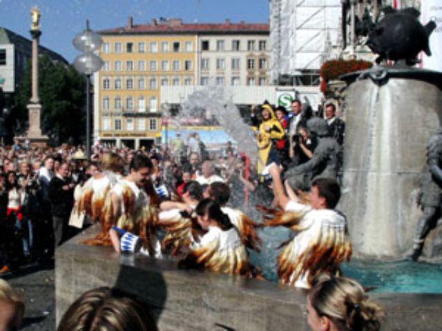 Brunnen auf dem Marienplatz, Foto: FFF FührungFürFirmen