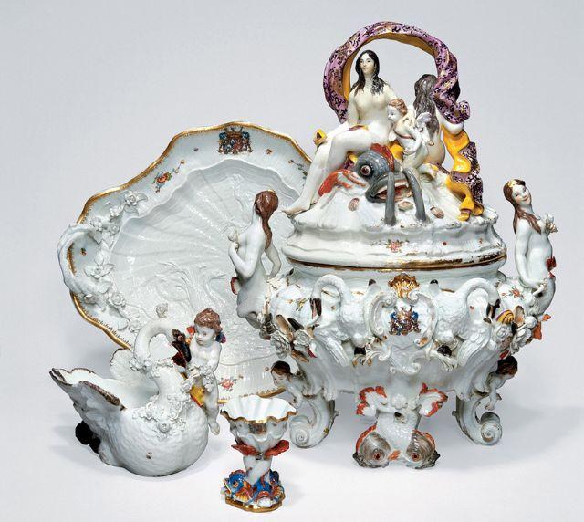 Meißener Porzellan-Sammlung, Foto: Bayerisches Nationalmuseum München