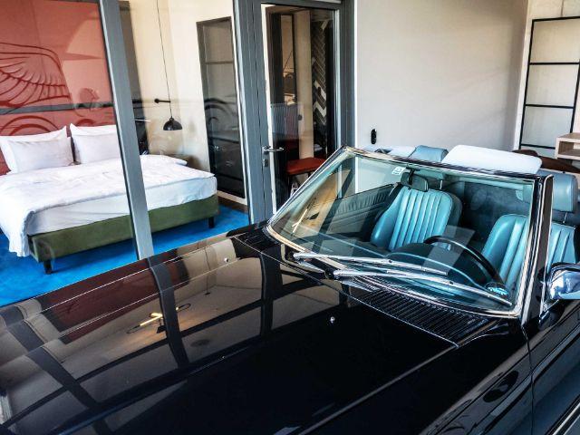 Parken im eigenen Zimmer: Das Hotel Ameron, Foto: MOTORWORLD München