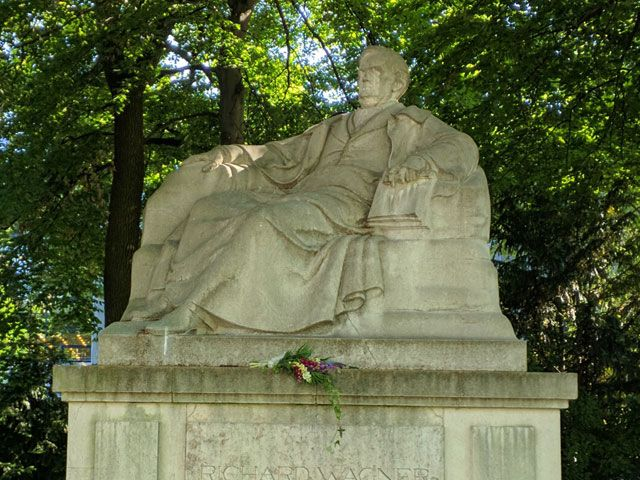Denkmal Richard Wagner