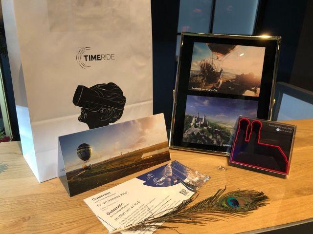 Gutscheinpaket für TimeRide, Foto: TimeRide