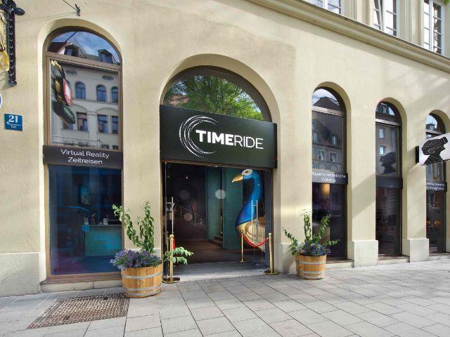 TimeRide von außen, Foto: TimeRide