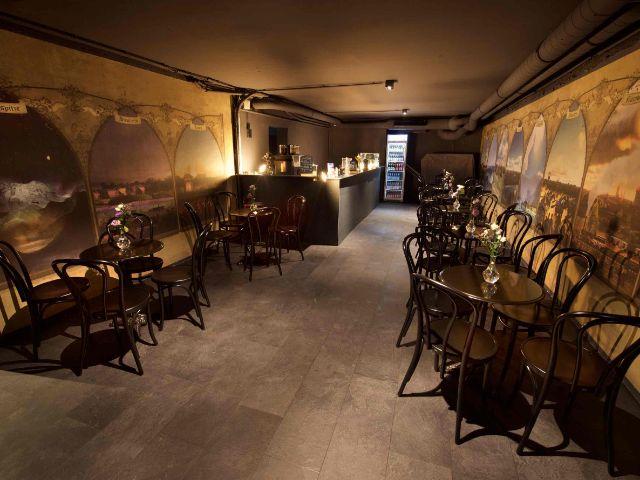 Das TimeRide Café, Foto: TimeRide