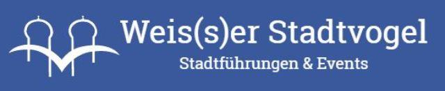Stadtvogel Logo, Foto: Weis(s)er Stadtvogel