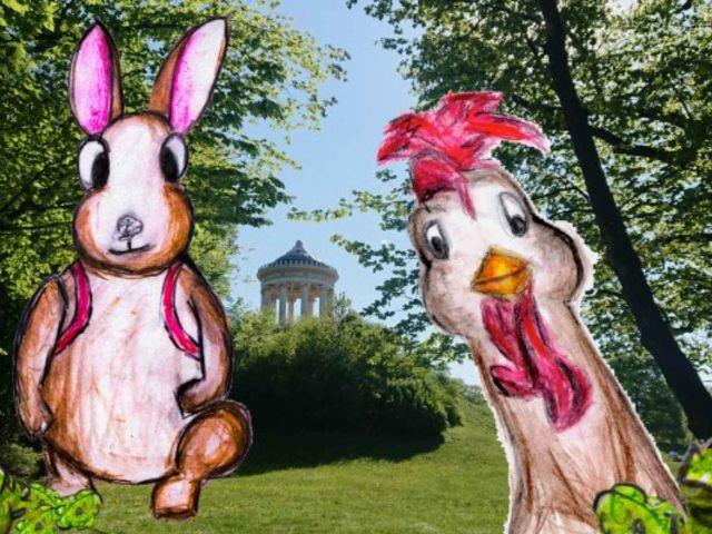 Rätselrallye durch den Englischen Garten mit YourCityQuest, Foto: YourCityQuest