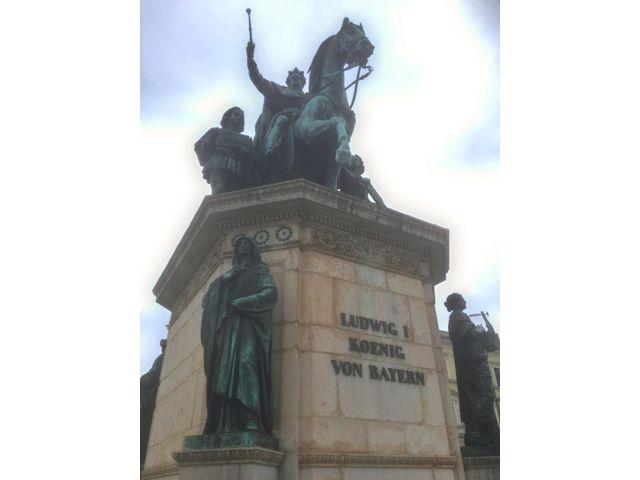 König Ludwig Denkmal, Foto: Ulrich Ziegner