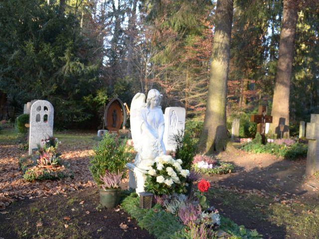 Der Waldfriedhof Solln, Foto: Städtische Friedhöfe München, Mirjam Lund