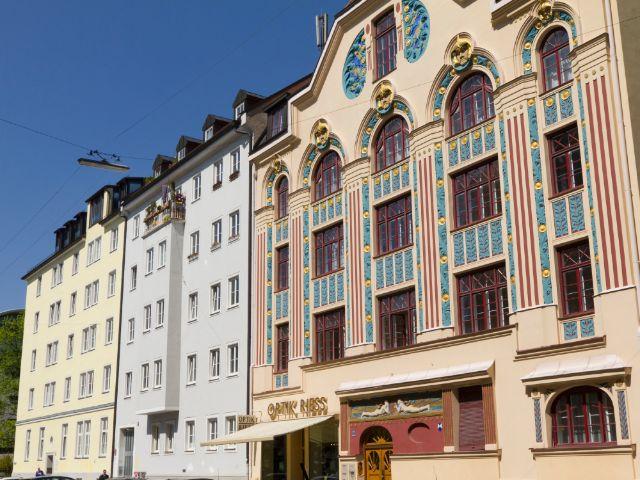 Jugendstilwohnhaus in der Ainmillerstraße, Foto: Katy Spichal