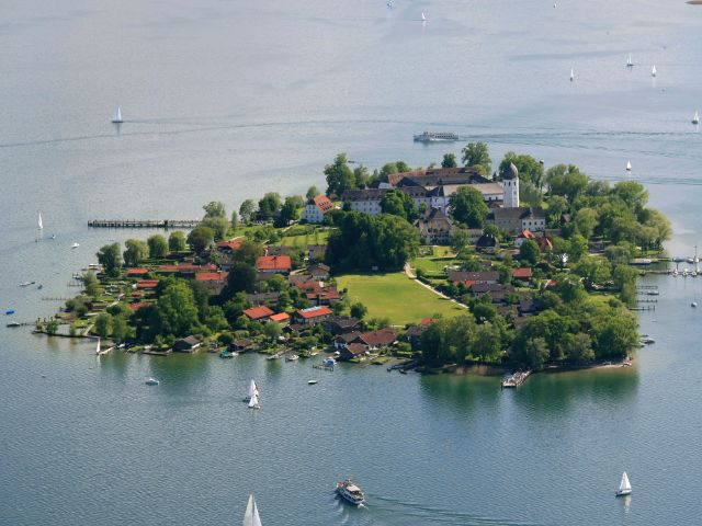 Fraueninsel , Foto: Chiemsee-Alpenland Tourismus, Anita Berger