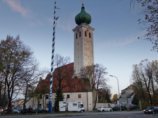 Wallfahrtskirche Maria Ramersdorf, Foto: Katy Spichal