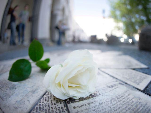 DenkStätte Weiße Rose, Foto: Ludwig-Maximilians-Universität München