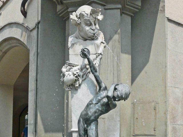 Brunnenbuberl Innenstadt, Foto: Constanze Groebmair
