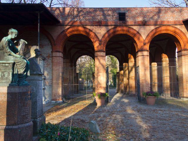 Alter Südfriedhof , Foto: Katy Spichal