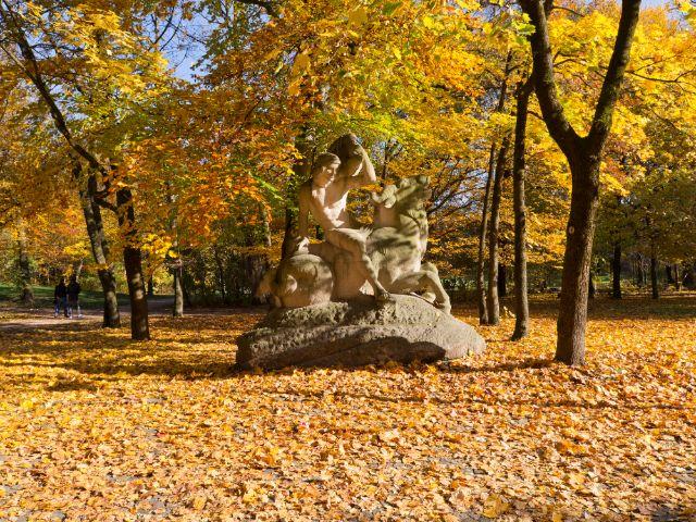 Bavariapark im Herbst, Foto: Katy Spichal