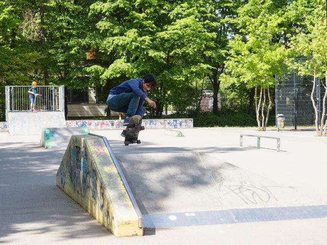 Der Maßmannpark in der Maxvorstadt, Foto: muenchen.de/Katy Spichal