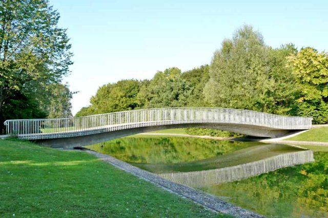Ostpark Brücke, Foto: Immanuel Rahman