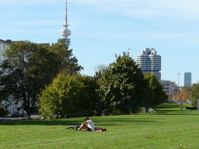 Herbststimmung im Petuelpark, Foto: Mark Read