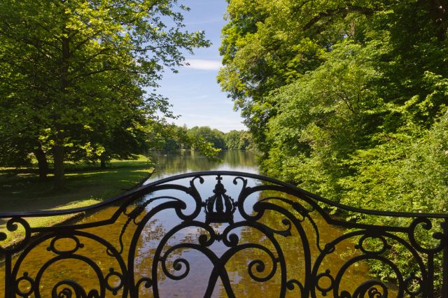 Schlosspark Nymphenburg Badenburger See