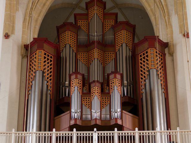 Die Westemporen-Orgel, Foto: Katy Spichal