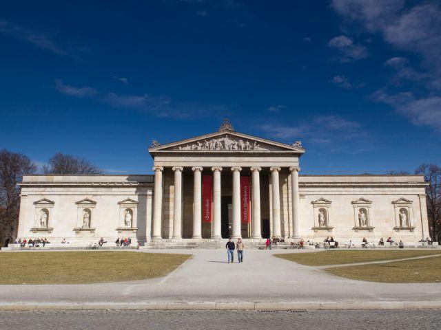 Die Glyptothek auf dem Königsplatz, Foto: Katy Spichal