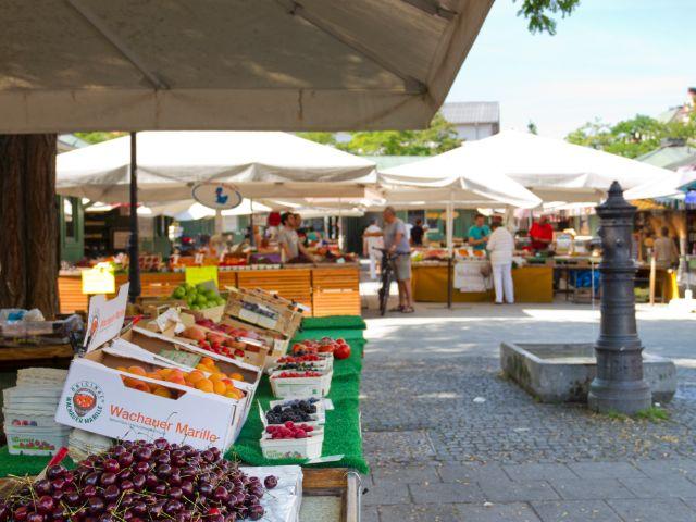 Viktualienmarkt München, Foto: Katy Spichal