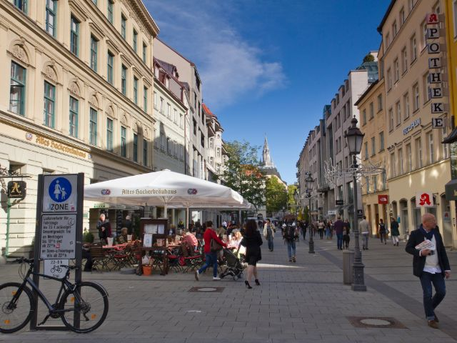 Sendlinger Straße in der Münchner Altstadt, Foto: Katy Spichal