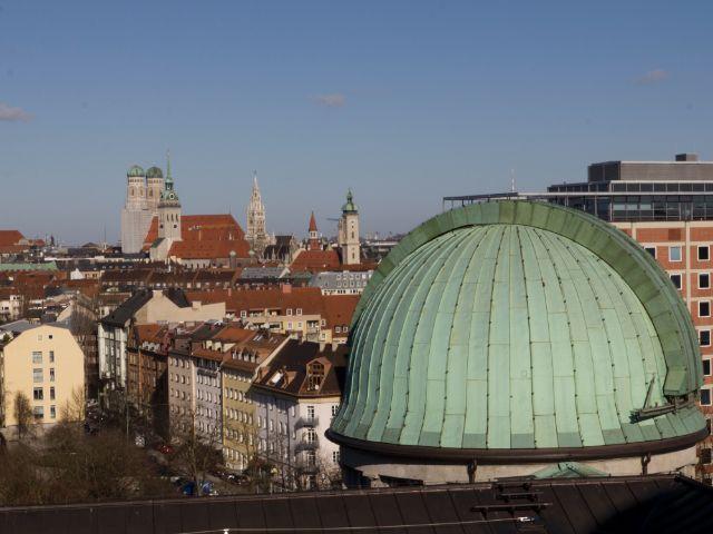 Sternwarte Ost im Deutschen Museum, Foto: Katy Spichal