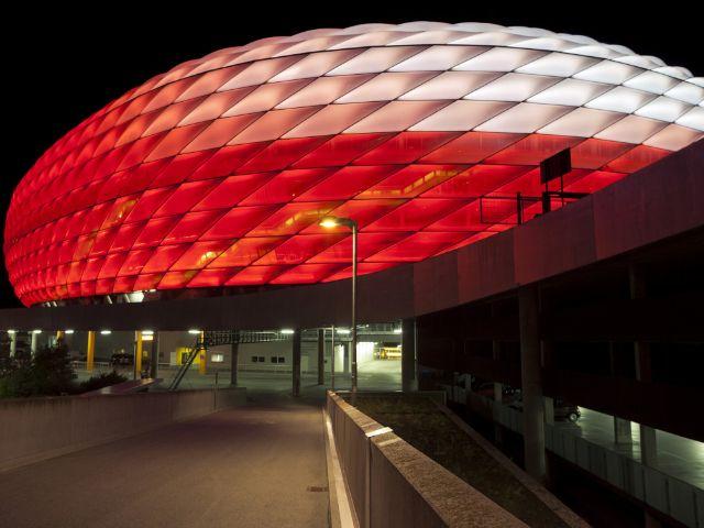 Allianz Arena erstrahlt in neuen Farben - das offizielle Stadtportal ...