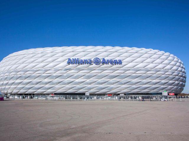 Allianz Arena von außen, Foto: Allianz Arena