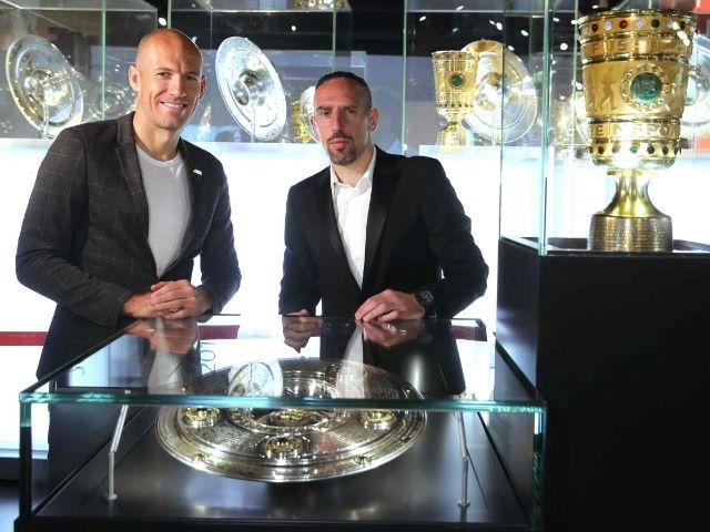 Arjen Robben und Franck Ribbéry, Foto: FCB, Getty Images