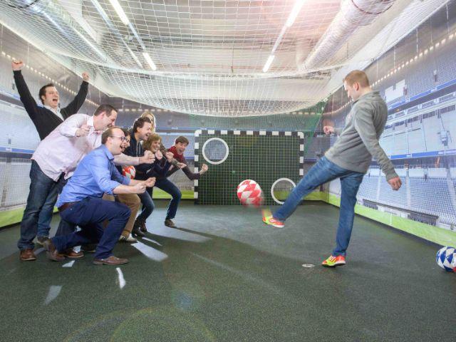 Kickturnier, Foto: Allianz Arena