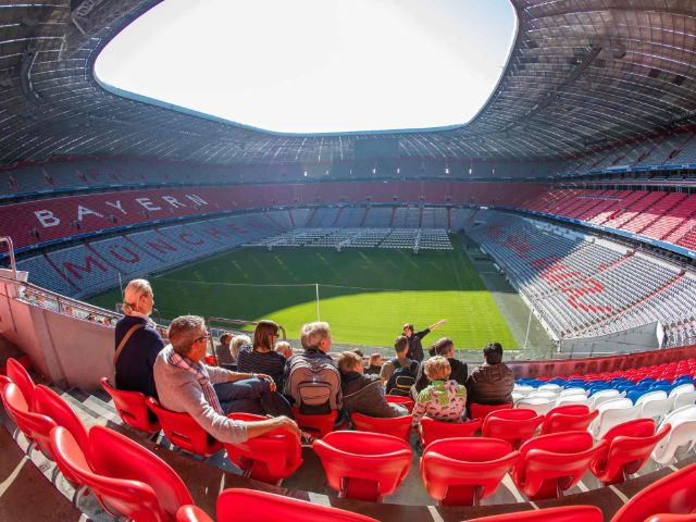 Tour durch die Allianz Arena, Foto: Allianz Arena