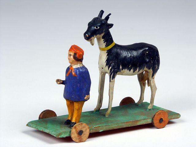 """Spielzeug aus der Dauerausstellung """"Spielten damit wirklich Kinder?"""" aus dem Bayerischen Nationalmuseum., Foto: Bayerisches Nationalmuseum"""