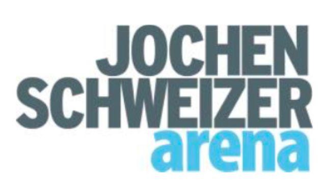 Logo der Jochen Schweizer Arena