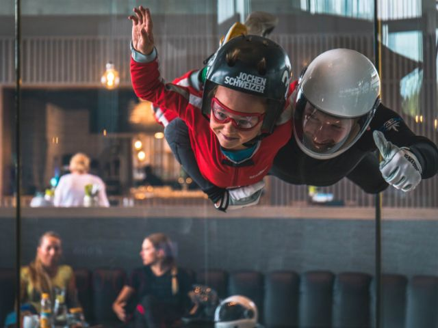 Bodyflying, Foto: jochen-schweizer-arena.de/Martin Ried