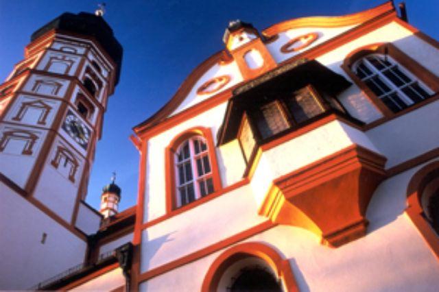 Wallfahrtskirche Kloster Andechs, Foto: Kloster Andechs