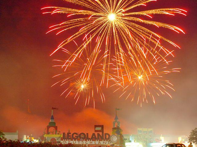 Legoland Feuerwerk, Foto: LEGOLAND® Deutschland