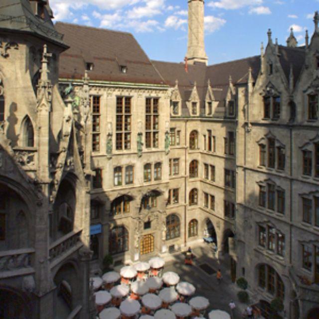 Neues Rathaus München Prunkhof, Foto: Nagy / Presseamt München