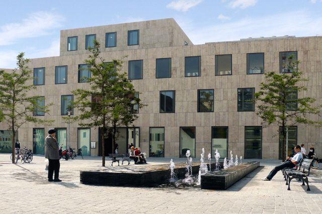 Gemeindezentrum der israelitischen Kultusgemeinde, Foto: LHM, Winhard 3d + webdesign