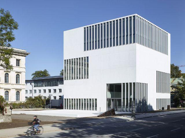 NS-Dokumentationszentrum in München - Ansicht von Südwesten, Foto: Jens Weber