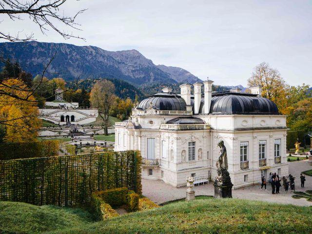 Schloss Linderhof, Foto: Ulrike Myrzik/Architekturmuseum der TU München