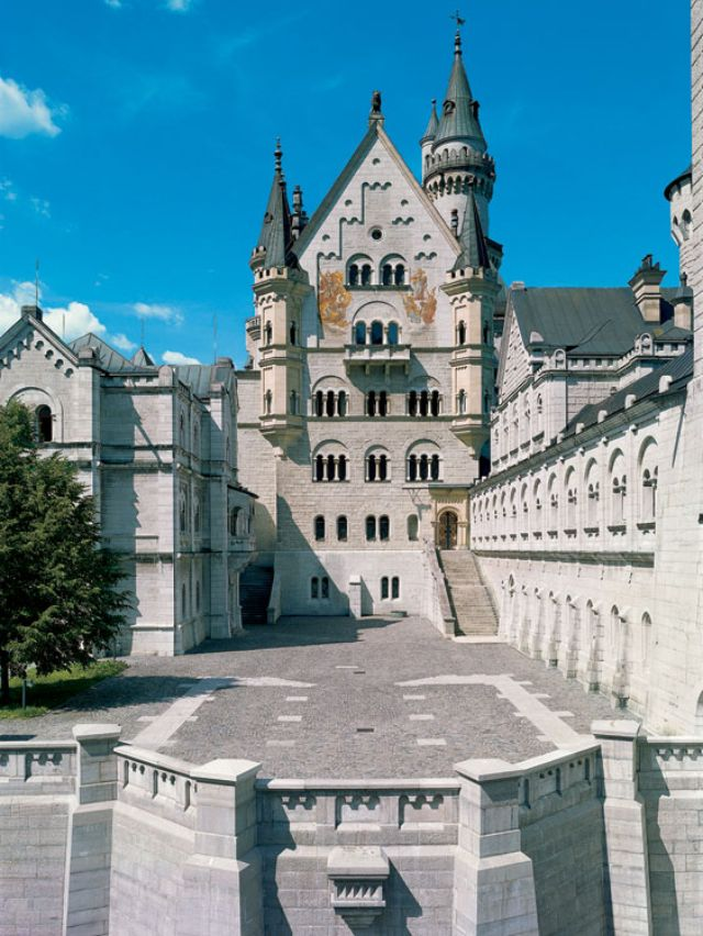 Schloss Neuschwanstein, Foto: Bayerische Schlösserverwaltung