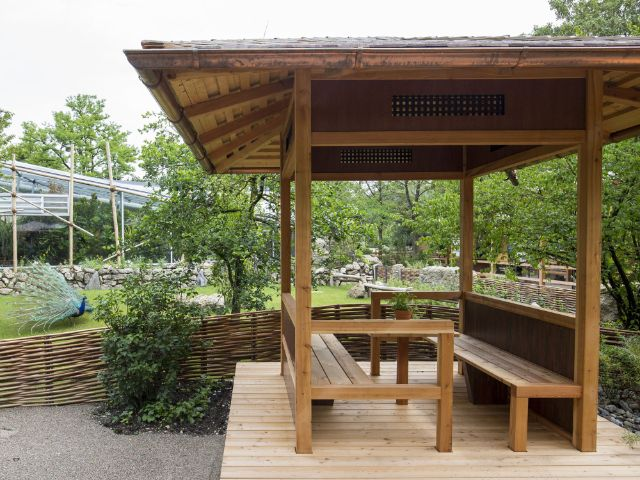 Eröffnung des fernöstlichen Pavillons Tao-Garten in Hellabrunn, Foto: Tierpark Hellabrunn/Marc Müller