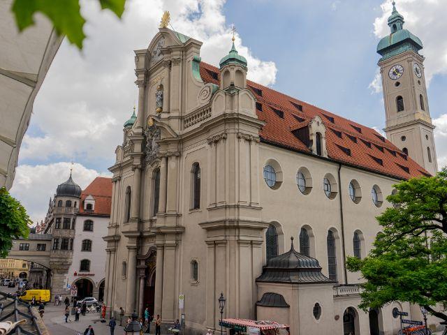 Heilig-Geist-Kirche, Foto: muenchen.de/Lukas Fleischmann