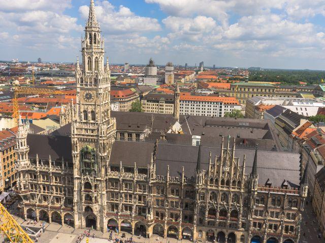 Das Neue Rathaus , Foto: muenchen.de/Lukas Fleischmann