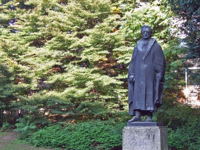 Goethe-Denkmal an der Ottostraße, Foto: muenchen.de