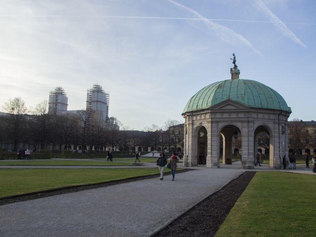 Der Dianatempel im Hofgarten der Residenz , Foto: Lukas Fleischmann